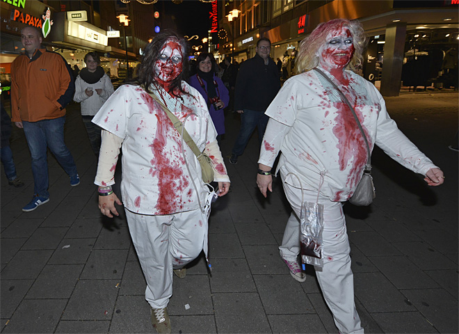 Germany Halloween Zombie Walk