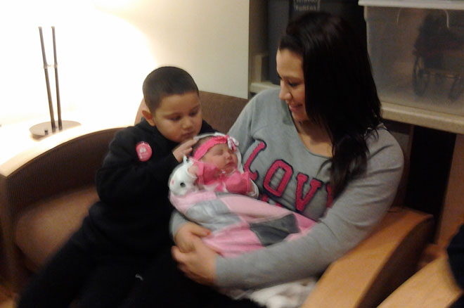 Meet the first 2013 baby born at Sacred Heart