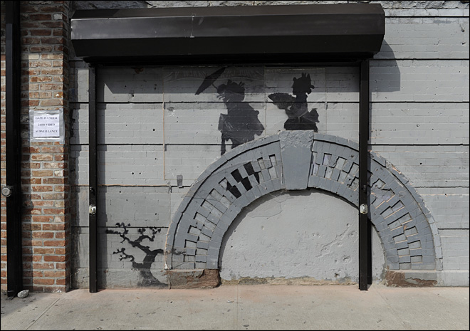Jerk or genius? Debate over Banksy's month of art
