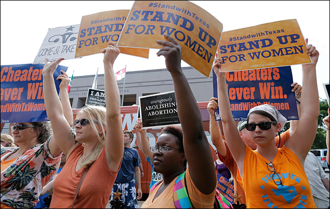 Ruling halts abortions at third of Texas' clinics