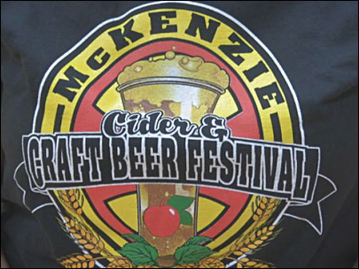 Cider for a cause at the McKenzie Cider and Craft Beer Fest