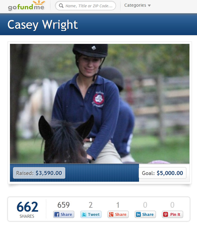 In wake of woman's murder, friends raise money to care for her horse