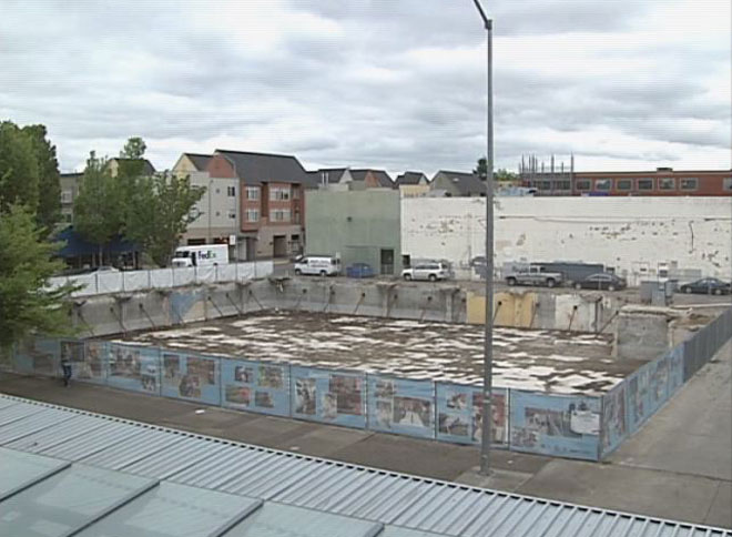 Downtown Eugene puts pits in past