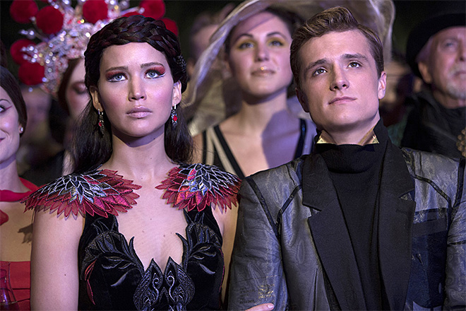 'Catching Fire' ablaze with $135 million at box office