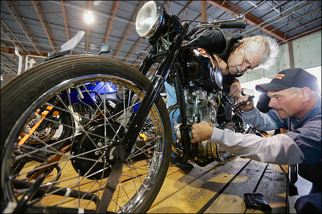 50 years later, Nebraska man reunited with stolen motorcycle