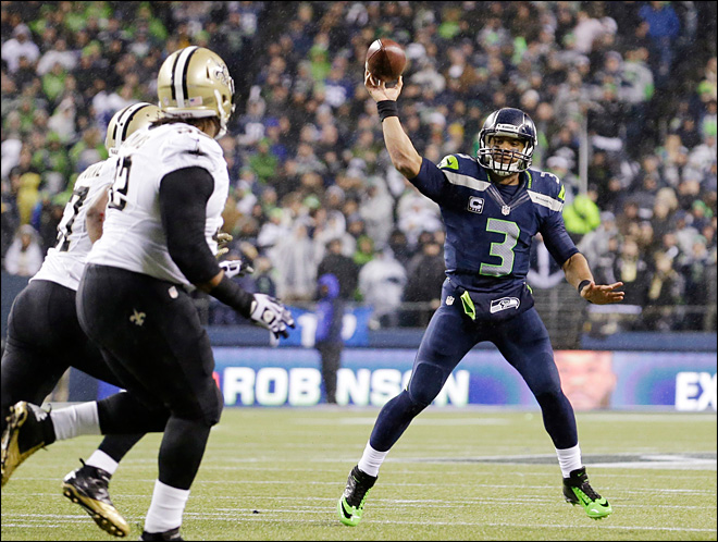 Seahawks dominate Saints in 34-7 victory