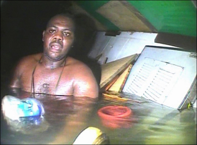 Nigerian man survives 3 days at bottom of Atlantic