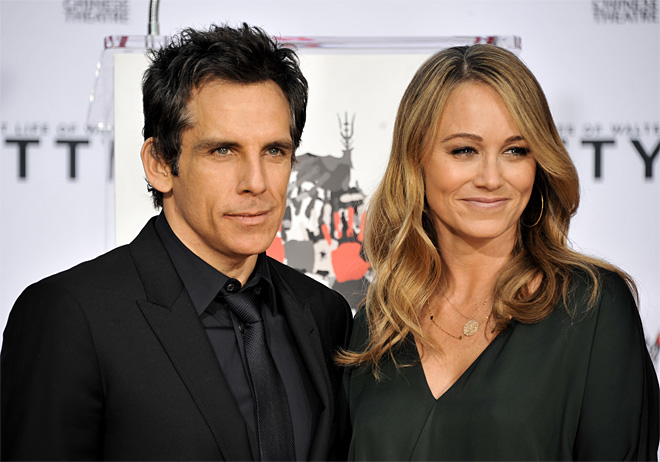 Ben Stiller Hand and Footprint Ceremony