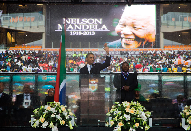 World leaders, South Africans honor Nelson Mandela