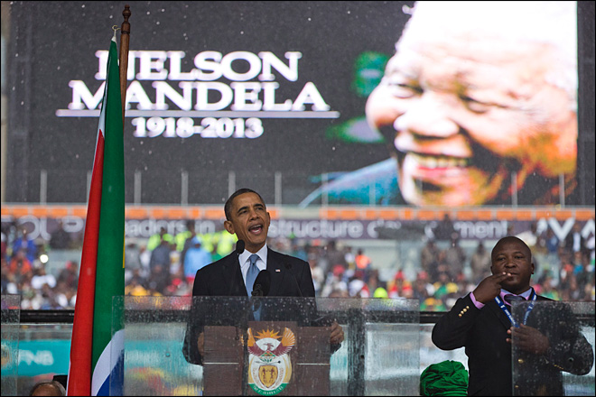 Fake Mandela interpreter reportedly faced murder charge