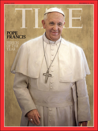 Pope Francis is Time's Person of the Year