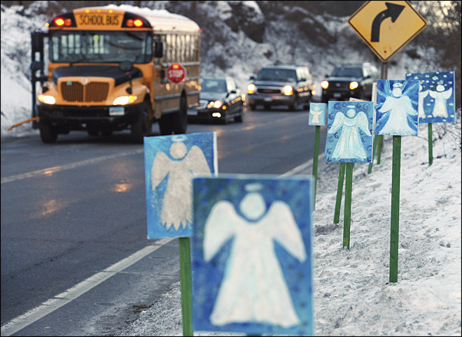 Newtown plans quiet anniversary of Sandy Hook shooting