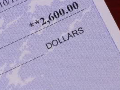 Counterfeit checks still tricking consumers