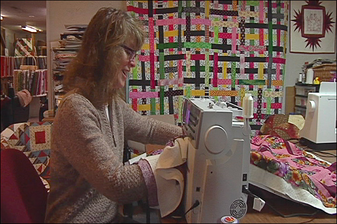 Quilting for hospice patients: 'The loss is soothed by the quilts'