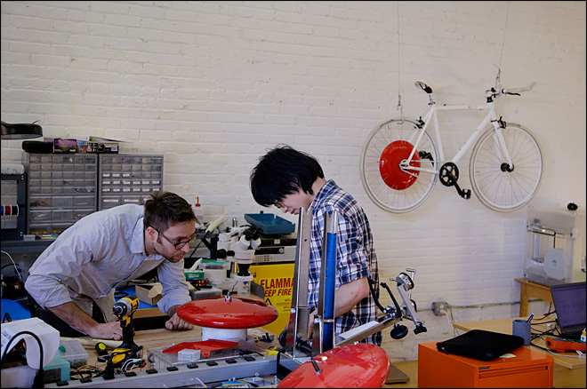 High-tech startup hopes to change biking