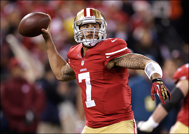 49er Kaepernick, Seahawks receiver named in police report