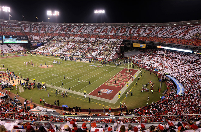 San Francisco's Candlestick Park hosts final event