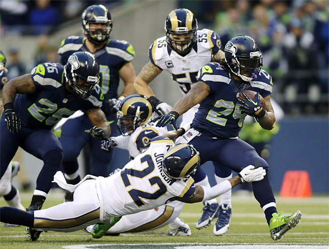 Rams Seahawks Football