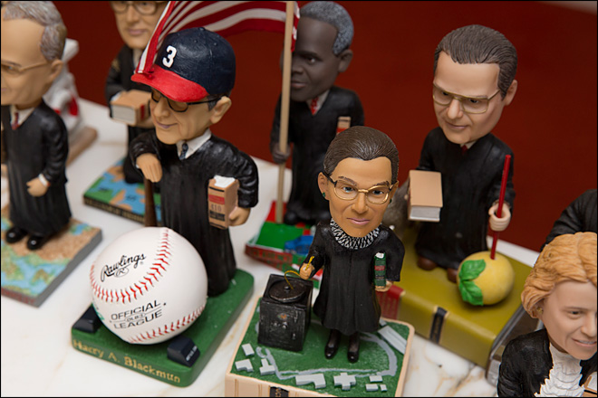 U.S. Supreme Court justices honored - with bobbleheads?