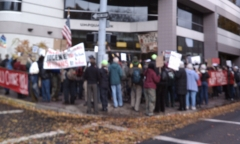 Protesting Umpqua Bank