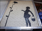 Big Banksy piece from gas station up for auction
