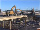 Video: Bridge demolished
