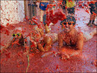 Photos: Spanish town hosts the ultimate tomato fight
