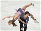Photos: Ice-dancing couples compete in Sweden