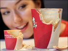 Latest KFC novelty food is edible coffee cups