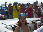 Rihanna in Cuba's capital to record music video