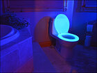 Man invents world's first glow-in-the-dark toilet