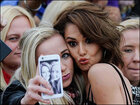 Photos: Celebrities pose, take selfies with fans