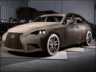 Photos: Lexus unveils car made of cardboard -- and it's drivable!