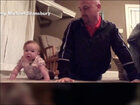 6-month old baby stars in workout video