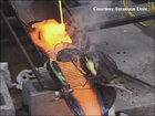 Cooking on a molten bed of lava