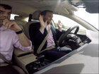Hitting the road in a self-driving car
