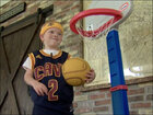 Pint-sized fan stars in Cleveland Cavaliers video