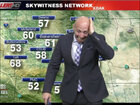 Spider vs. weatherman