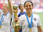 U.S. celebrates Women's World Cup victory