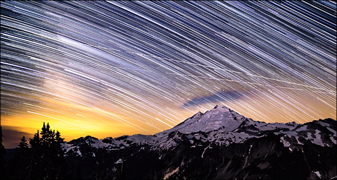 Time-lapse videos show off nighttime beauty around Northwest