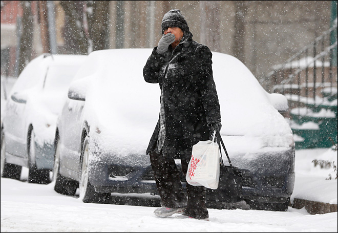 Fierce winter storm bearing down on northeast U.S.