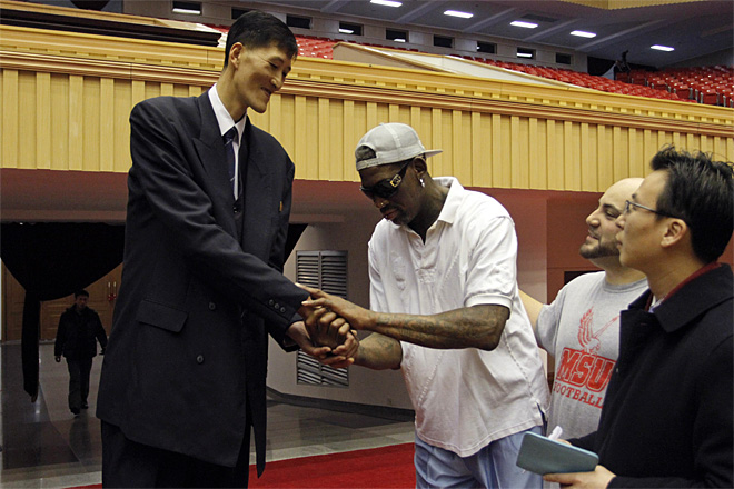 North Korea Rodman Ri