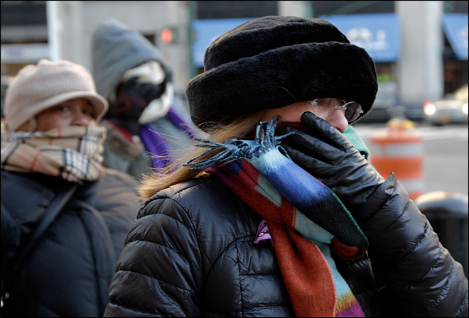 Polar freeze settles over southern, eastern states