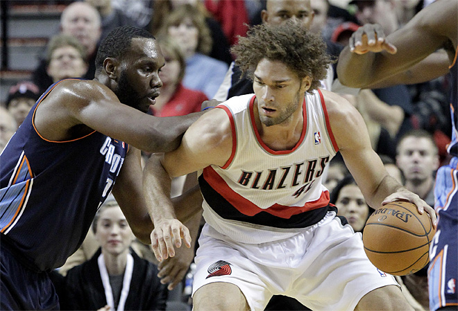 Bobcats Trail Blazers Basketball