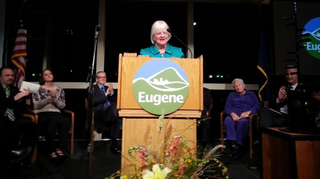 10th year as Eugene mayor: Kitty Piercy's State of the City address