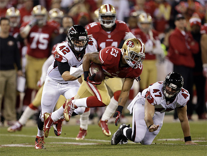 Falcons 49ers Football