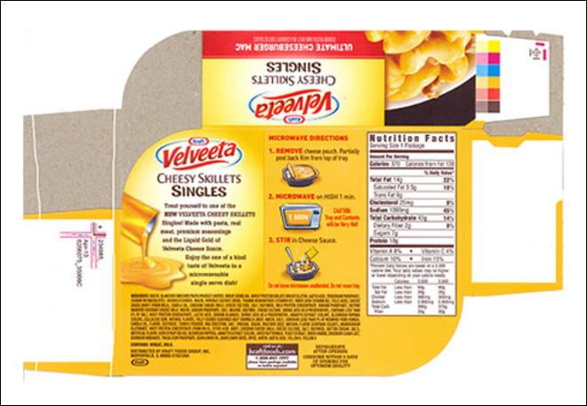 Kraft Velveeta Cheesy Skillets recalled over soy