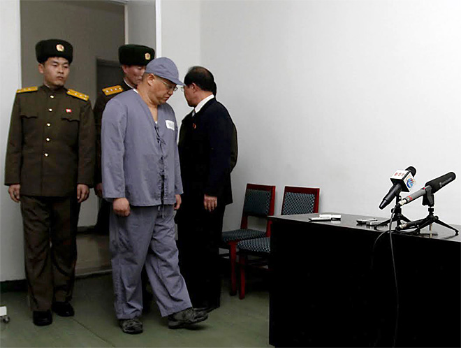 North Korea Jailed American
