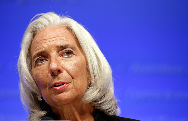 IMF raises outlook for global and U.S. economies