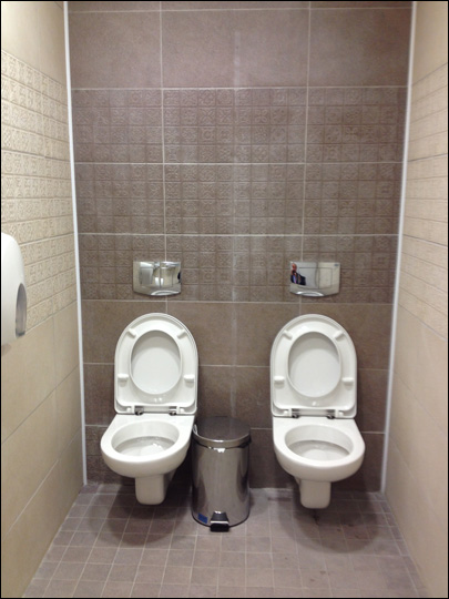 Photo of twin toilets in Sochi goes viral